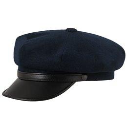 Męska czapka granatowa z daszkiem - sklep z czapkami sterkowski