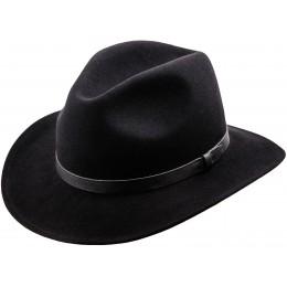 Fedora kapelusz czarny męski