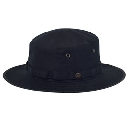 czarny damski kapelusz turystyczny