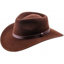 kapelusz meski brązowy swiat kapeluszy sterkowski