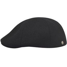 Zimowy kaszkiet męski czarny - polskie czapki