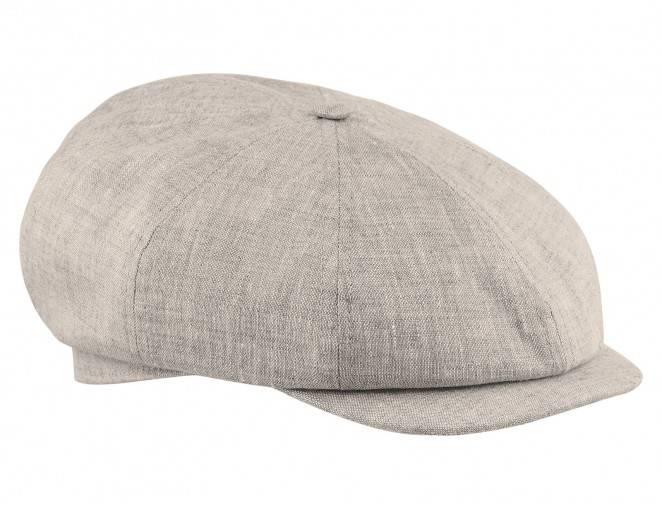 Beżowa czapka z daszkiem męska na lato, na plażę. na wakacje, na spacery, na jezioro