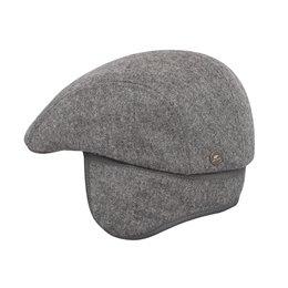 Czapka męska szara z daszkiem - sklep z czapkami warszawa