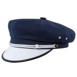 Bawełniane nakrycie głowy z daszkiem - polska pracownia czapek warszawa