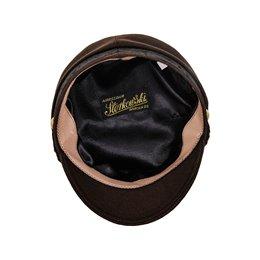 Meska czapka wełniana z daszkiem