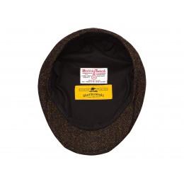 Wielokolorowy kaszkiet czapka męska na zimę