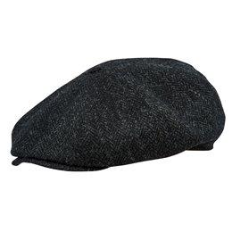 Meska czapka antracytowa męska