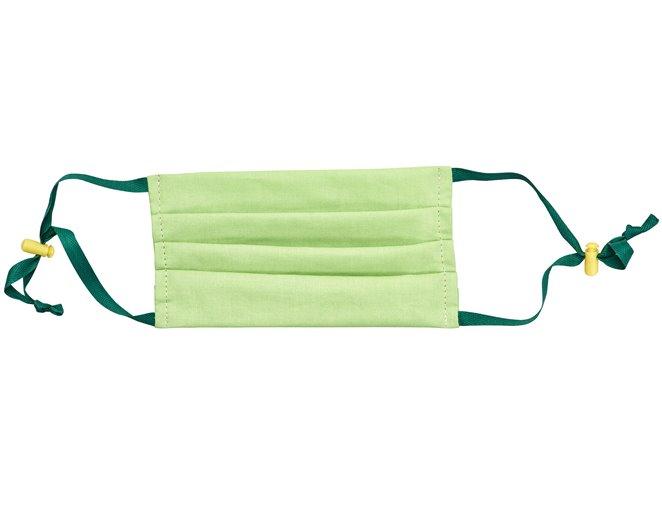 Maseczka higieniczna zielona trójwarstwowa wielokrotnego użytku