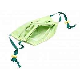 Maseczki higieniczne trójwarstwowe zielone wielokrotnego użytku