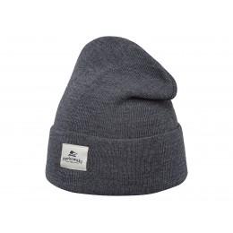 Granatowa czapka z sztruksu bawełnianego na lato