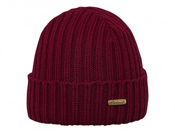 Klasyczny szary beret męski Grand Classic