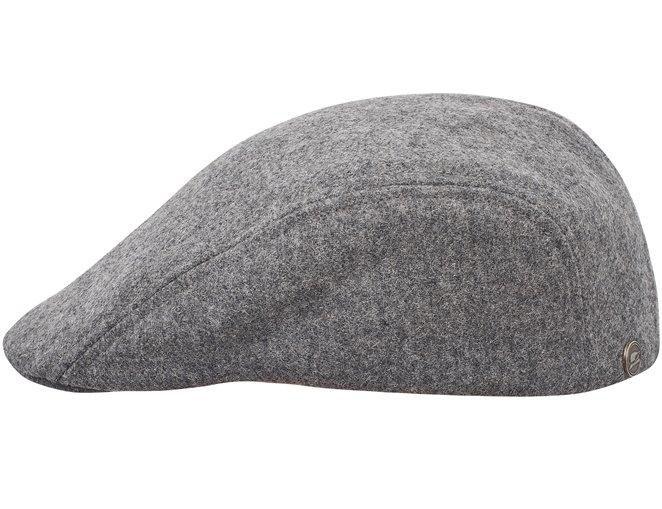 Damska czapka wełniana z daszkiem na zimę