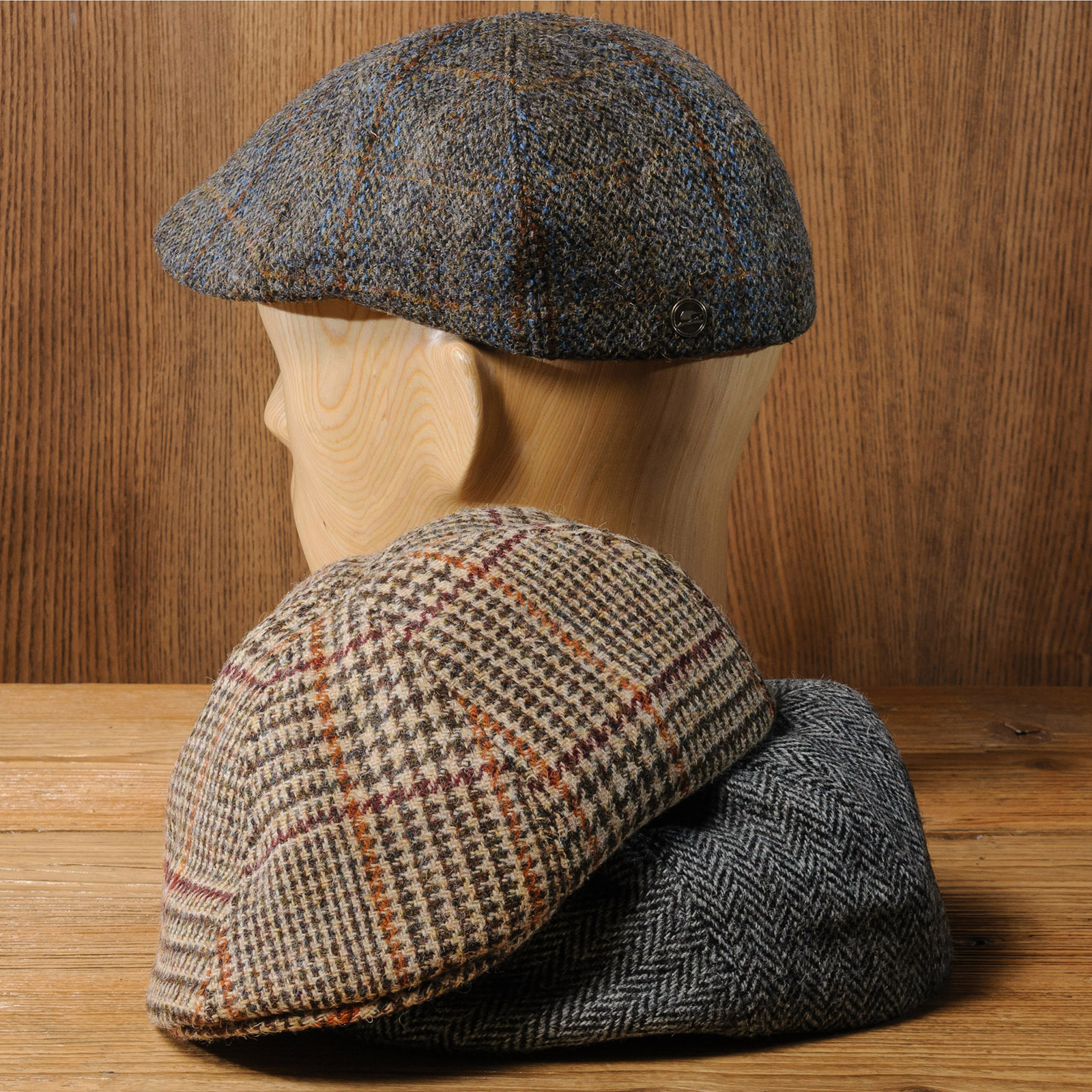 Czapka Duckbill Harris Tweed