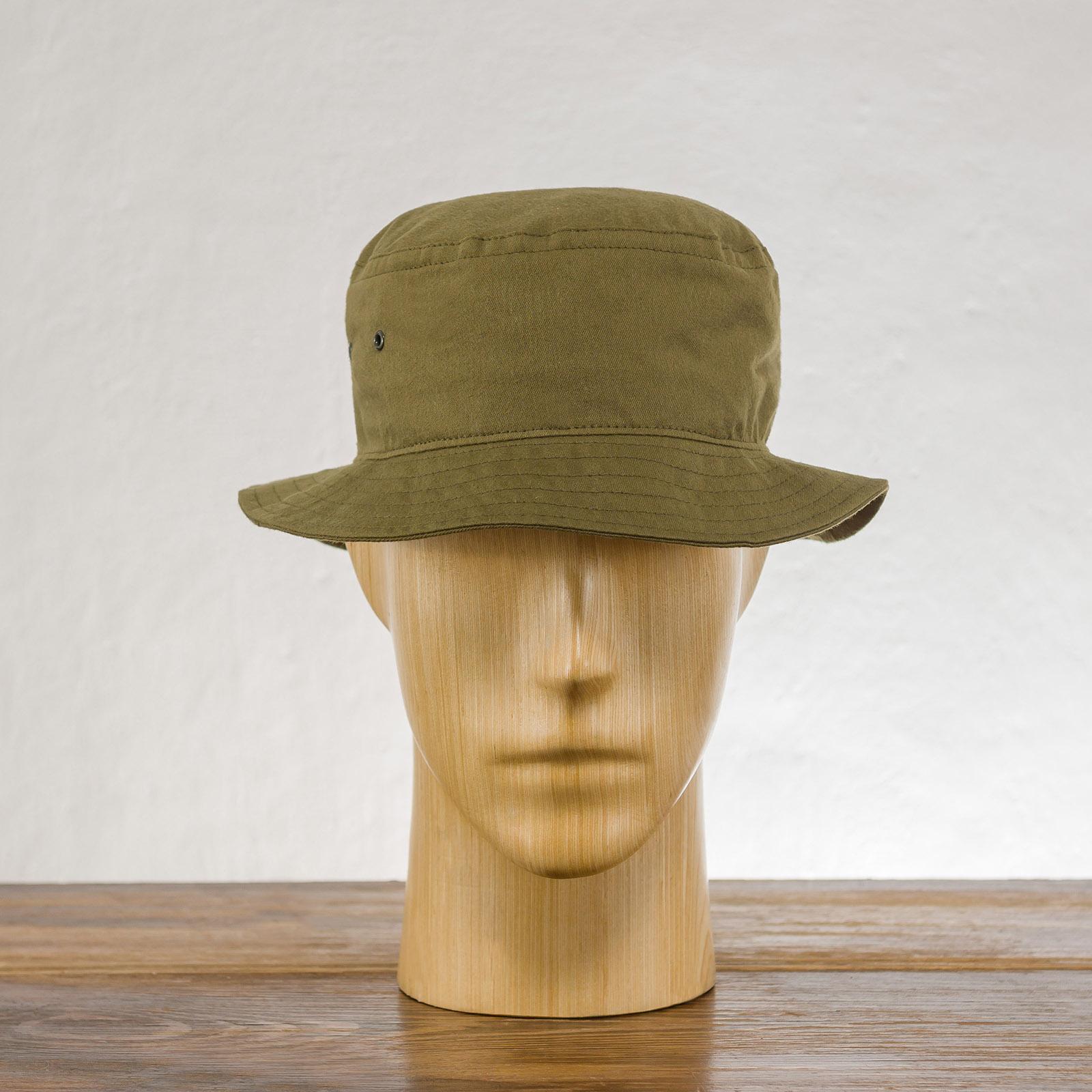 Bawełniany kapelusz typu Bucket trekkingowy rybacki na lato
