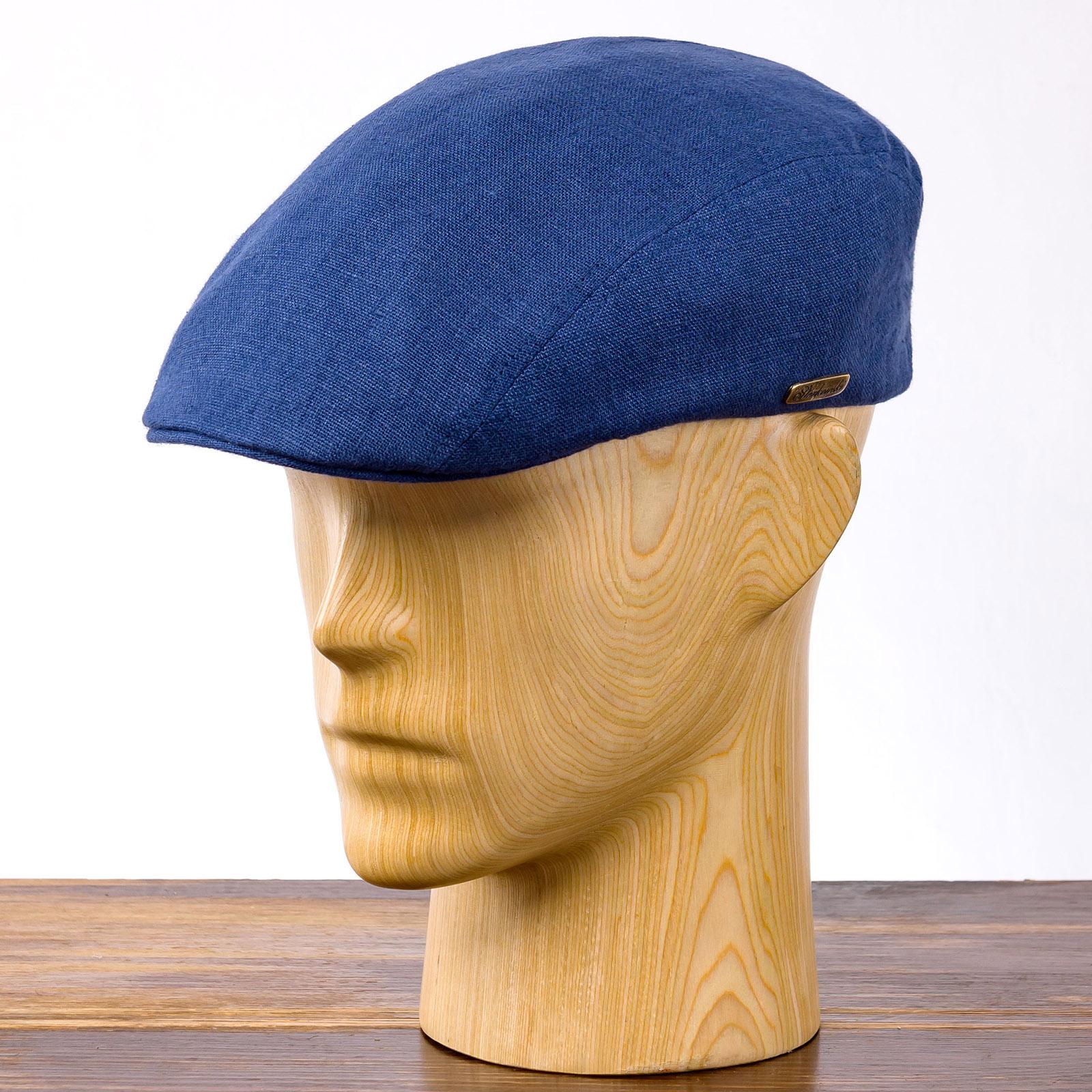 Lekka i przewiewna czapka kaszkiet na lato lniana Ivy cap