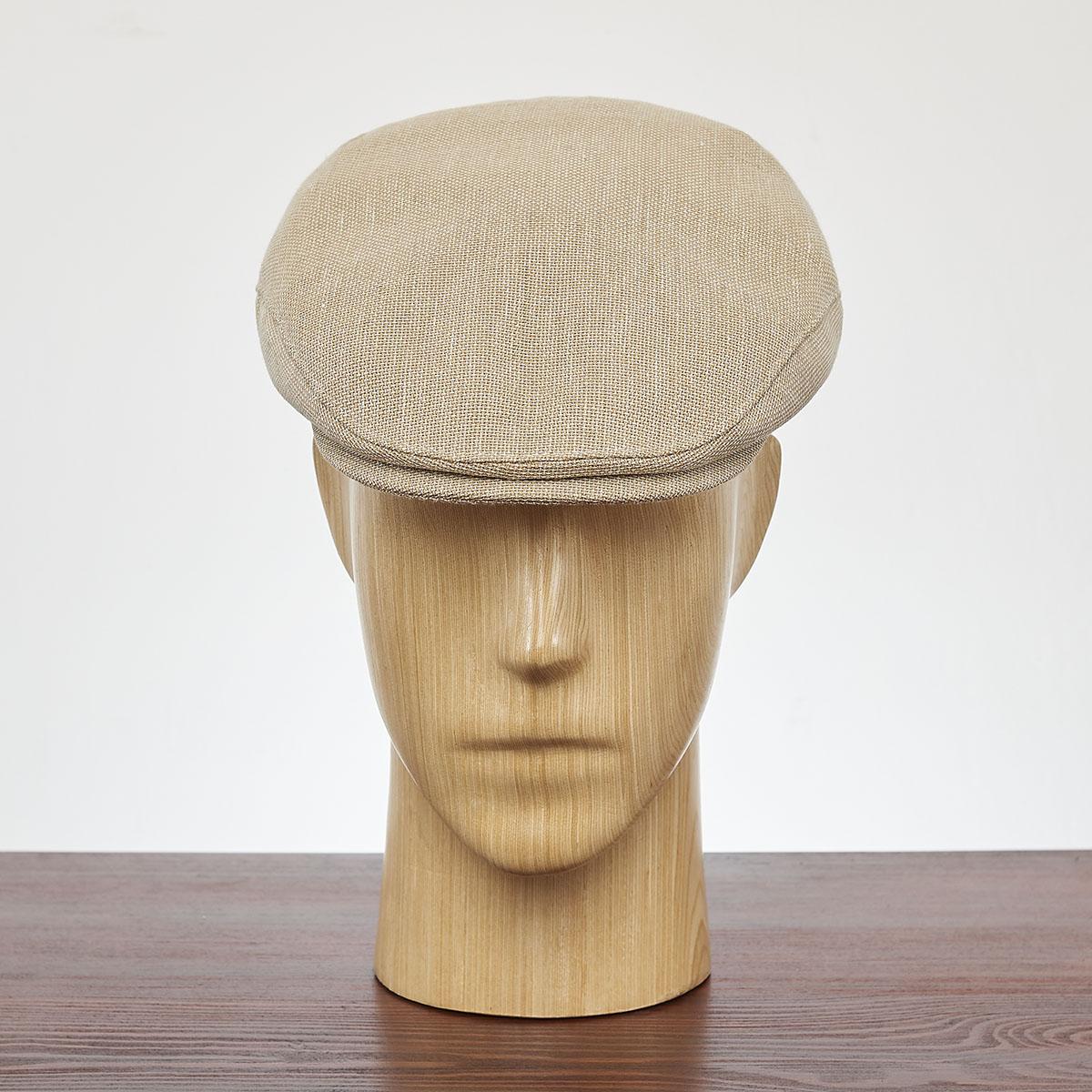 Kaszkiet Lniano-Bawełniany Derby idealna przewiewna i lekka czapka na letnie upalne dni