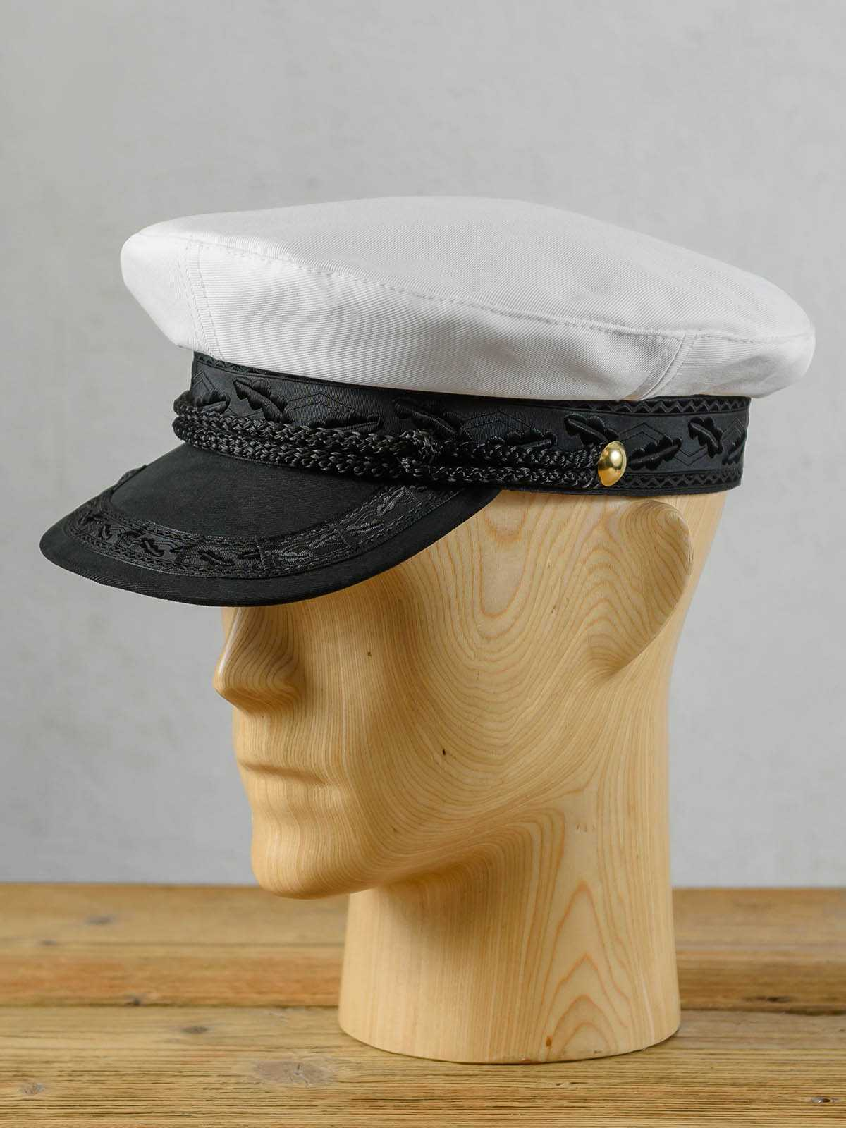 Czapka marynarska kapitańska