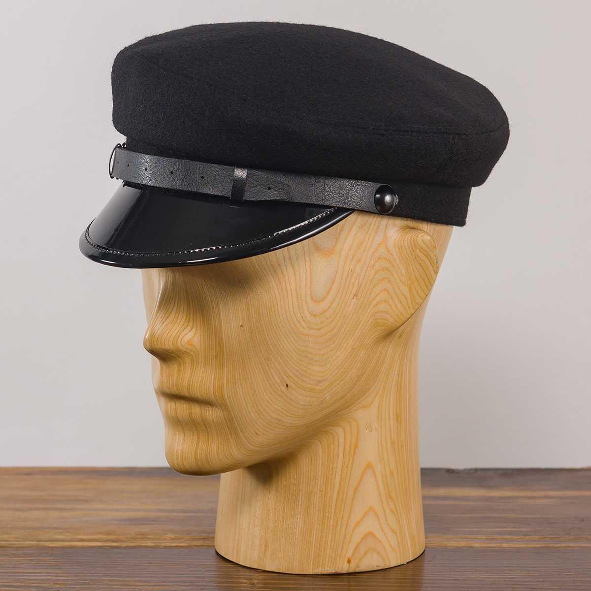 czapka wełniana z daszkiem maciejówka