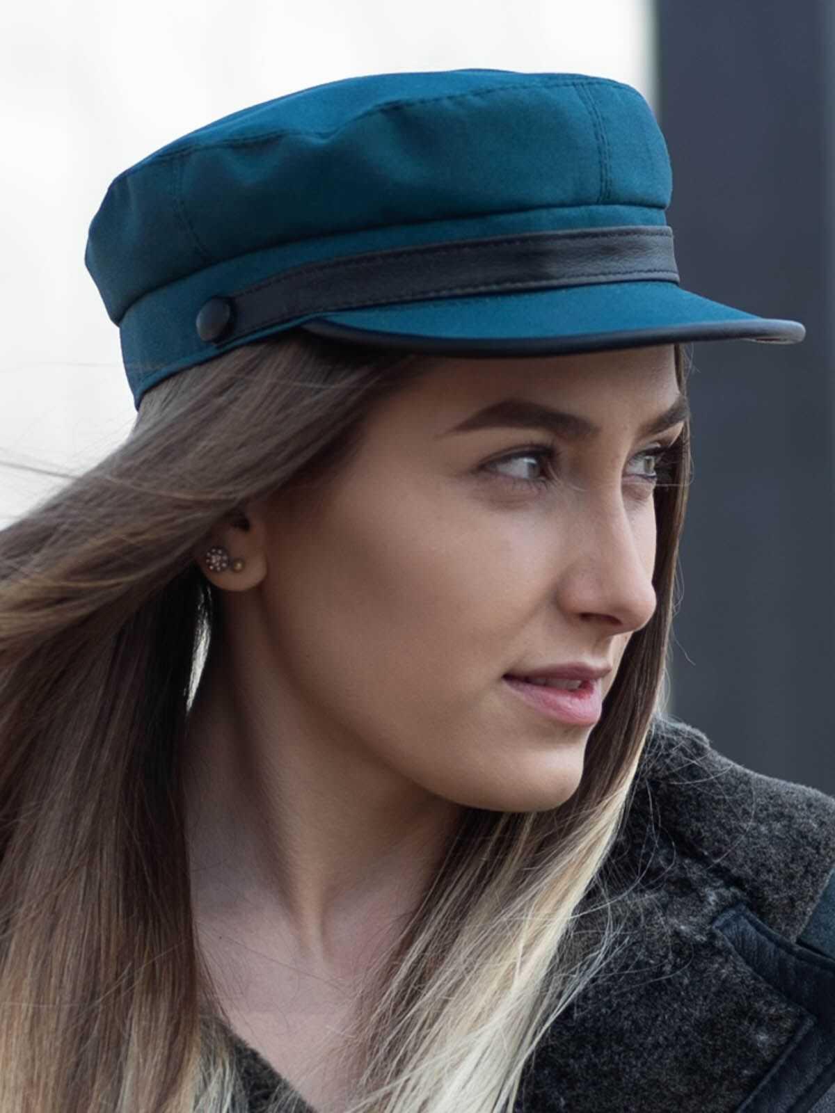 czapka z daszkiem damska