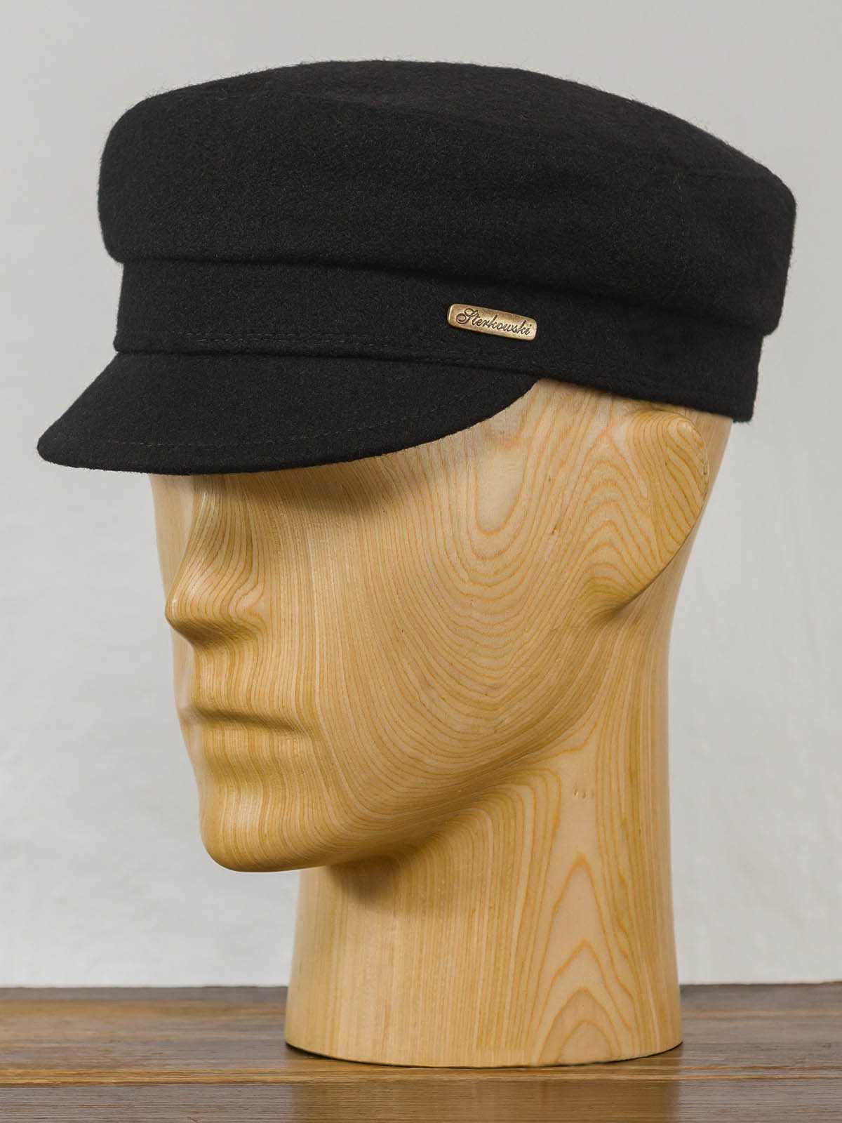 czapka męska wełniana